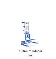 Teretno montažni liftovi - Rabljeni strojevi